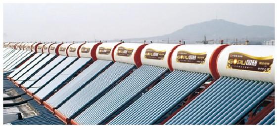 青岛王格庄新新花园居民小区463台单机热水工程