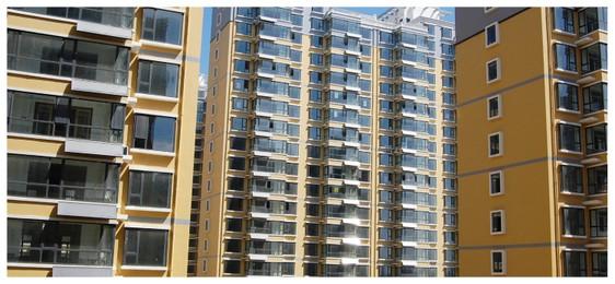 河北省唐山新城市花园高层住宅466台平板热水工程