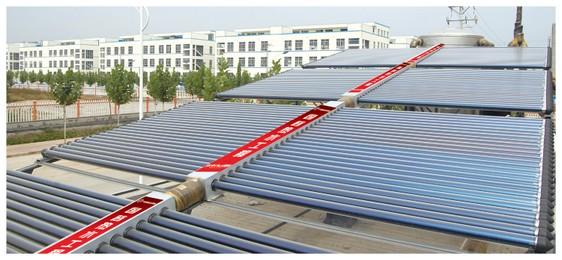 山东烟台造船总厂职工公寓25吨热水工程