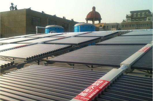 国普太阳能沂水集热工程